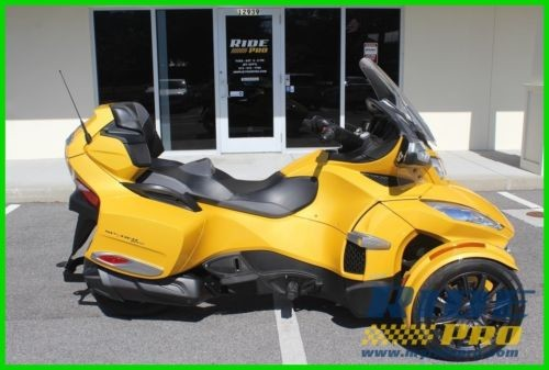 2014 Can-Am Spyder Yellow photo