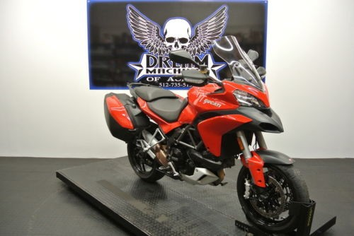 2014 Ducati Multistrada 1200 S Touring -- Red photo