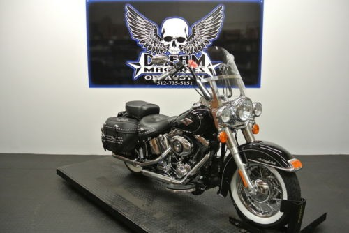2014 Harley-Davidson FLSTC - Heritage Softail Classic -- Black for sale
