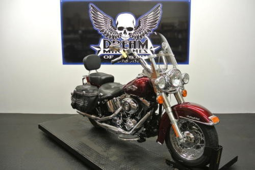 2014 Harley-Davidson FLSTC - Heritage Softail Classic -- Red photo