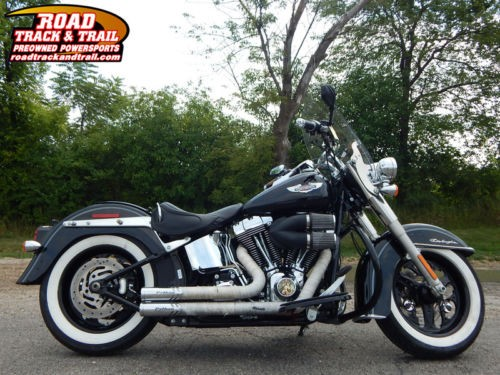 2014 Harley-Davidson FLSTN - Softail® Deluxe -- Black for sale
