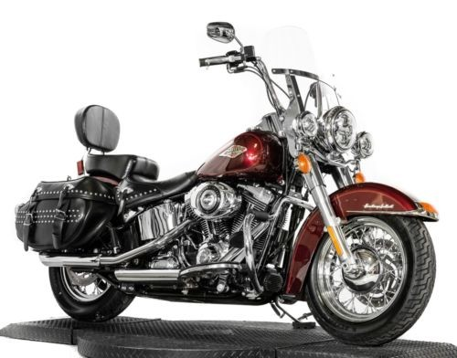 2014 Harley-Davidson Softail Mysterious Red photo