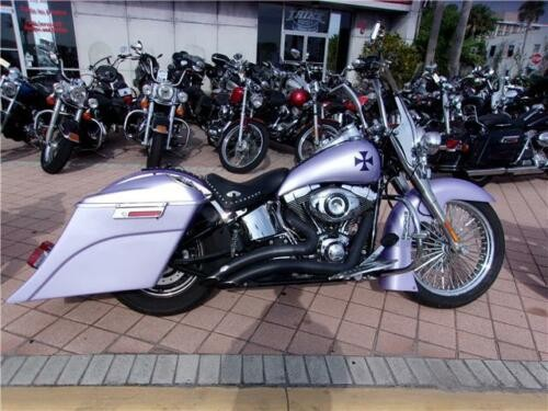 2014 Harley-Davidson Softail -- Purple photo