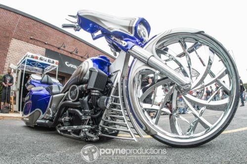2014 Harley-Davidson Touring Blue photo