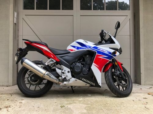 2014 Honda CBR White photo
