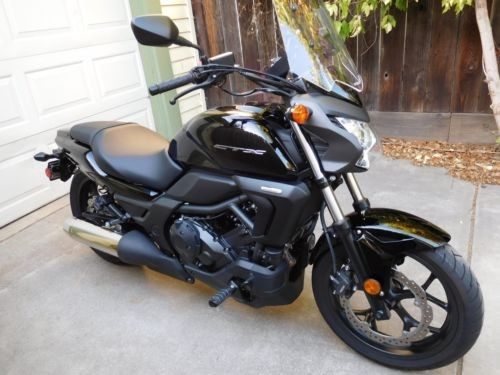 2014 Honda CTX 700N Black for sale