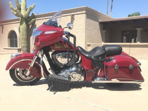 2014 Indian CHIEFTAIN INDIAN RED photo