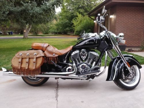 2014 Indian Chief Vintage Black photo