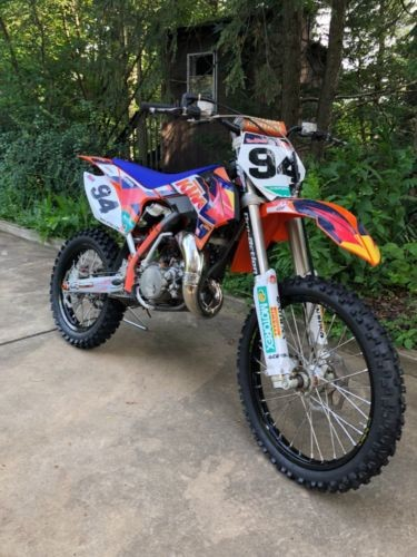 2014 KTM SX Orange photo