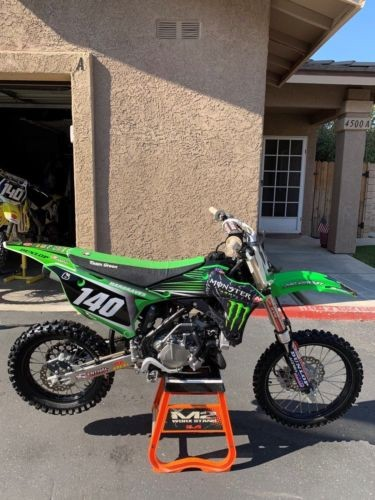 2014 Kawasaki KX Green for sale