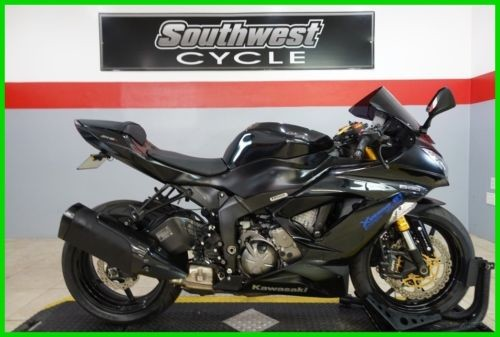 2014 Kawasaki Ninja - ZX-6R ABS ZX™-6R ABS Black photo