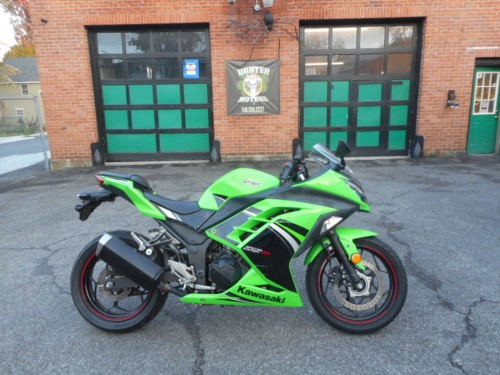2014 Kawasaki Ninja Green photo