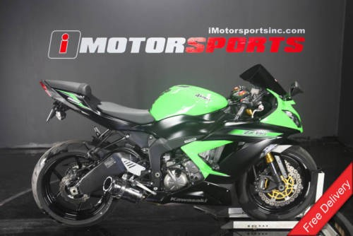 2014 Kawasaki Ninja -- Green photo