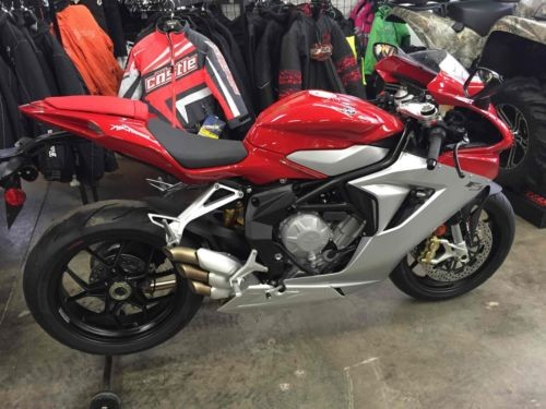 2014 MV Agusta F3 675 ABS Red for sale craigslist