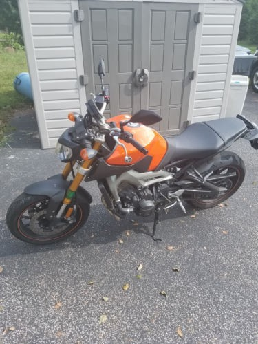 2014 Yamaha FZ Orange photo