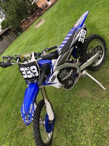 2014 Yamaha YZ Blue for sale
