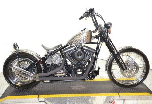 2015 American Classic Motors Chopper Bobber Naked Spun Steel photo
