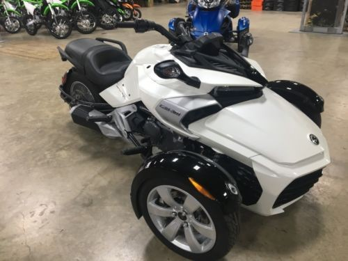 2015 Can-Am SPYDER F3 SM6 White photo