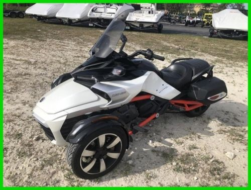 2015 Can-Am Spyder F3 S 6-Speed Semi-Automatic (SE6) WHI photo