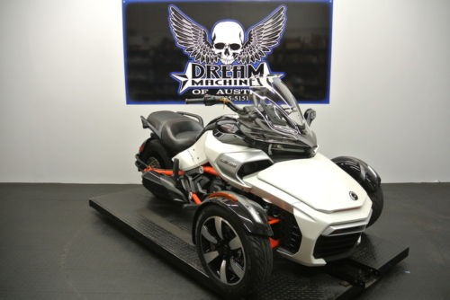2015 Can-Am Spyder F3 S 6-Speed Semi-Automatic SE6 Steel Black — Black for sale