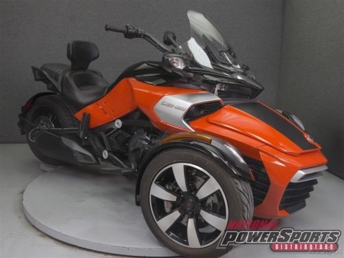 2015 Can-Am Spyder F3 ORANGE/BLACK photo