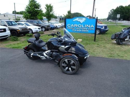 2015 Can-Am Spyder F3S Black photo