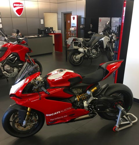 2015 Ducati Superbike Red Corse for sale craigslist