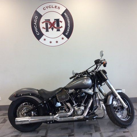 2015 Harley-Davidson FLS SLIM 103 -- Black photo
