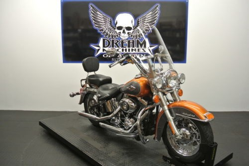 2015 Harley-Davidson FLSTC - Heritage Softail Classic -- Amber Whiskey/charcoal Pearl photo