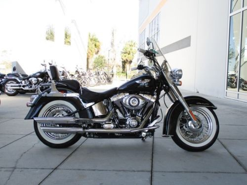 2015 Harley-Davidson FLSTN103 -- Black photo