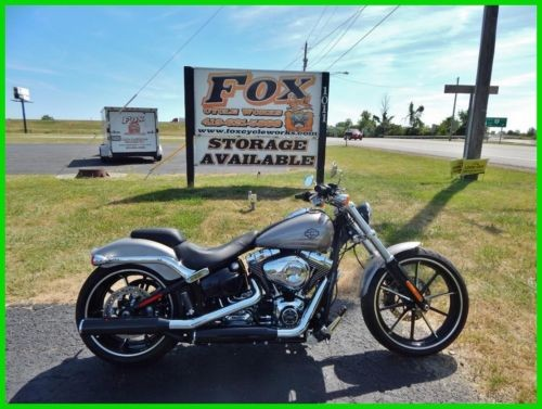 2015 Harley-Davidson Softail FXSB Breakout® Charcoal Pearl photo