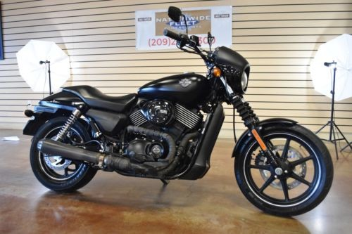 2015 Harley-Davidson XG 750 Street Black photo