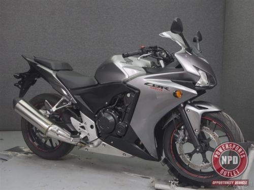 2015 Honda CBR 500R Black photo