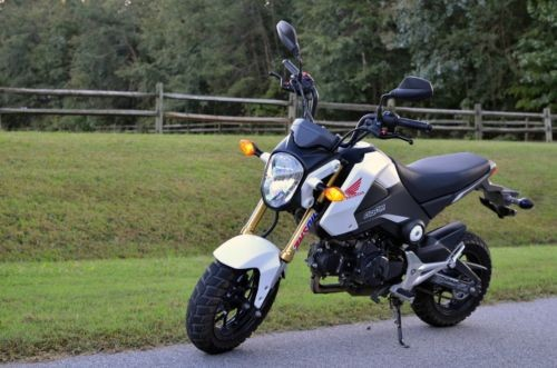 2015 Honda Grom -- White photo