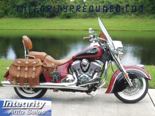 2015 Indian CHIEF Red photo