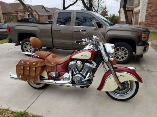 2015 Indian Chief Vintage Motorcycle  photo