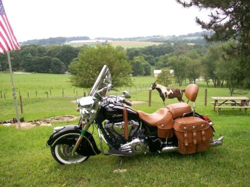 2015 Indian Chief Vintage Black photo