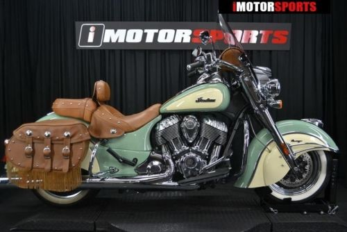 2015 Indian Chief® Vintage Willow Green/Ivory Cream -- Green photo