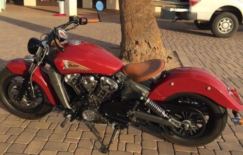2015 Indian Scout Indian Red photo