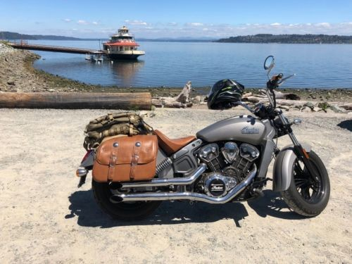 2015 Indian Scout Silver photo