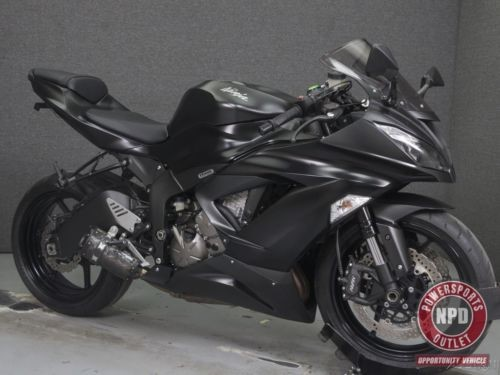 2015 Kawasaki Ninja ZX6R 636 Black for sale craigslist