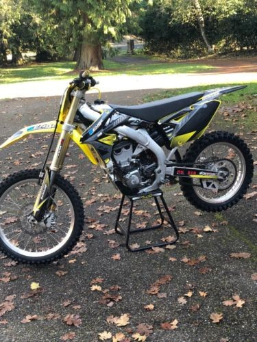 2015 Suzuki RM-Z Yellow photo