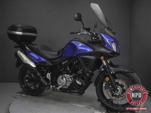 2015 Suzuki SFV DL650 VSTROM 650 W/ABS Black photo