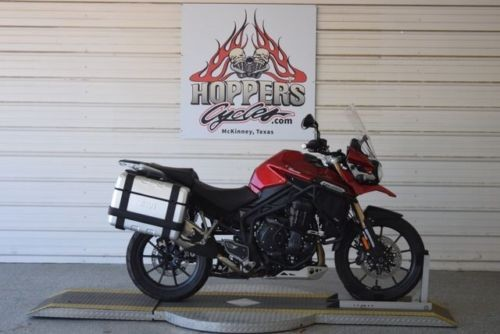 2015 Triumph Tiger Explorer ABS Red photo