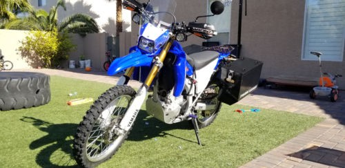 2015 Yamaha WR250R Blue for sale craigslist