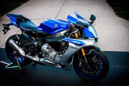2015 Yamaha YZF Blue photo