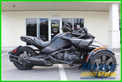 2016 Can-Am Spyder F3 Triple Black photo