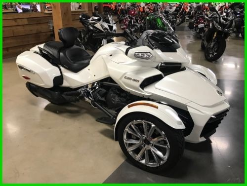 2016 Can-Am Spyder F3 White photo