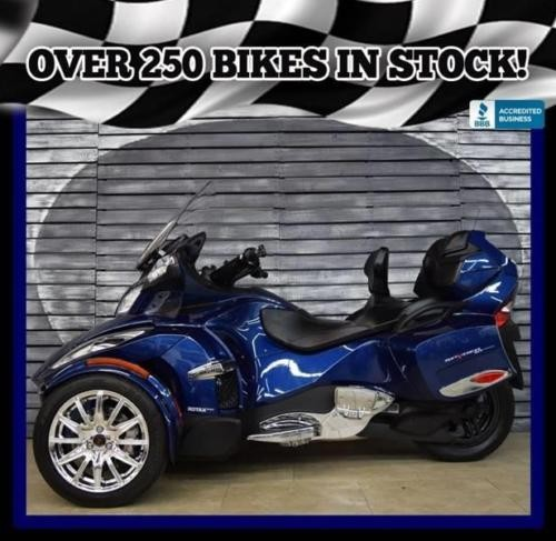 2016 Can-Am Spyder Limited Blue photo
