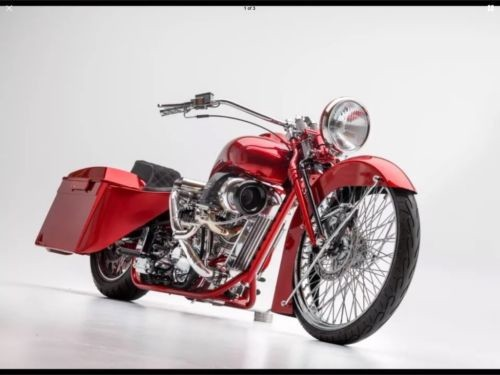 2016 Custom Built Motorcycles Bagger Turbo Red for sale craigslist